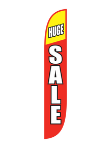 Huge Sale Red & Yellow Feather Flag