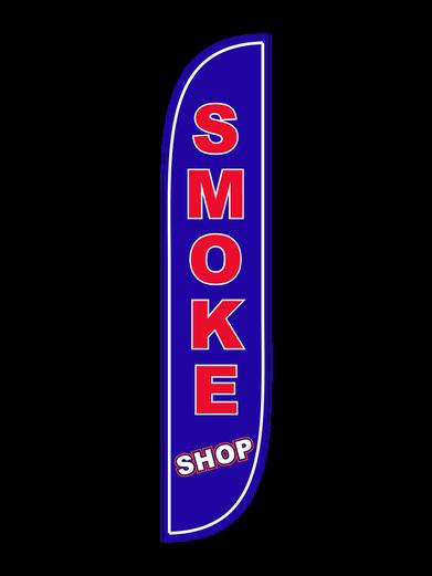 Smoke Shop Feather Flag