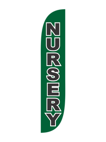 Nursery Feather Flag