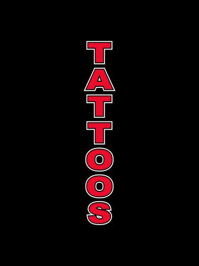 Tattoos Black Feather Flag