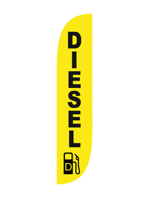 Diesel Feather Flag