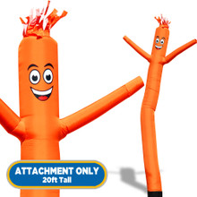 Orange Sky Dancers® Inflatable Tube Man 20ft