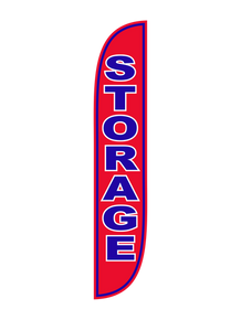 Storage Feather Flag