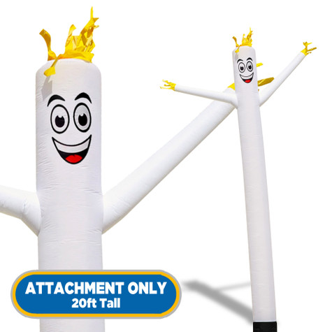 White Sky Dancers® Inflatable Tube Man 20ft