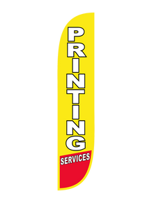 Printing Services Feather Flag