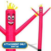 Pink Sky Dancers® Inflatable Tube Man 20ft