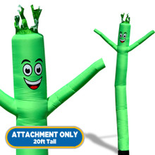 Green Sky Dancers® Inflatable Tube Man 20ft