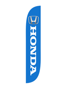 Honda Blue Feather Flag