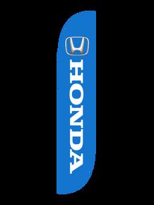 Honda Blue Feather Flag