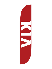 Kia Red Feather Flag