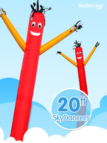 Sky Dancers Red & Yellow - 20ft