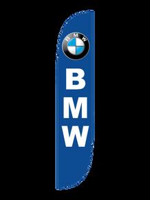 BMW Blue Feather Flag