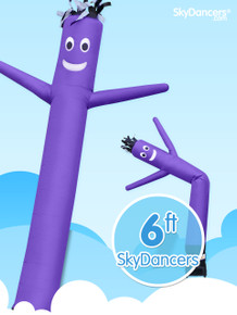 6Ft Purple SkyDancer® Inflatable Advertising Product - B