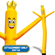 Yellow Sky Dancers® Inflatable Tube Man 20ft