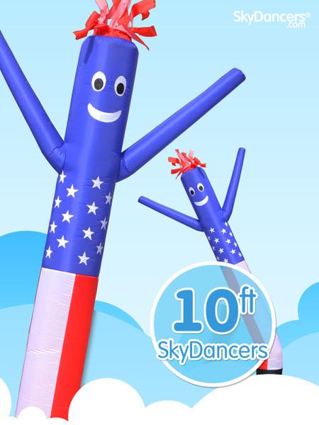 Sky Dancers American Flag - 10ft