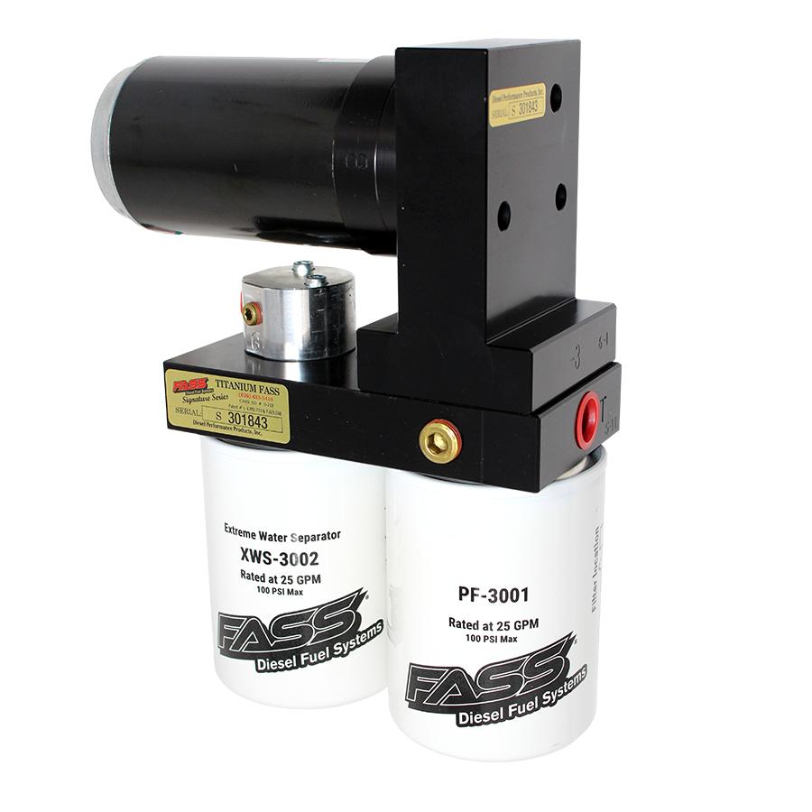 FASS Titanium Signature Series Diesel Fuel Pumps Gm Duramax 2011-2014