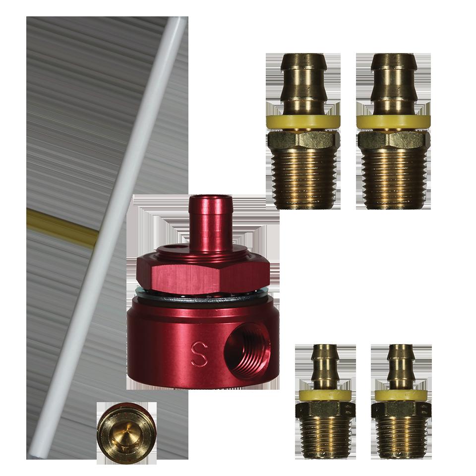 FASS Diesel Fuel Universal 5//8/'/' Fuel Module Suction Tube Kit #STK-1003