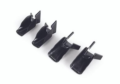 Gutter extensions black
