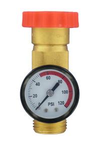 A01 - 1124 Water Regulator With Pressure Gauge