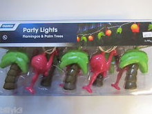 42662 Flamingo & Palm Tree Party Lights