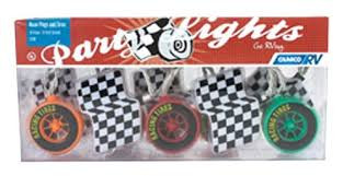 42658 Race Flag & Tire Party Lights