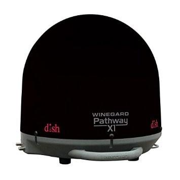 Winegard PA2035 Pathway X1 Black Portable Satellite TV Antenna For Dish