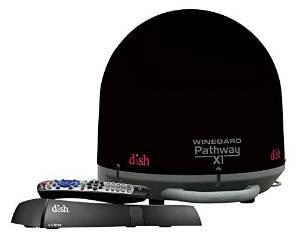 PA2035R Winegard Black Satellite Dish With Reciever