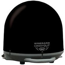 GM6035 Winegard Black Portable Satellite TV Antenna