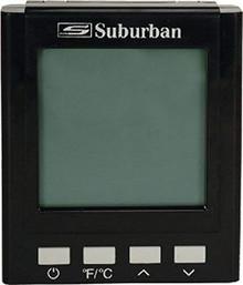 162292 Suburban On-demand water heater control center - black