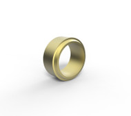 X00381 (12MM OD TUBE NUT BRASS)