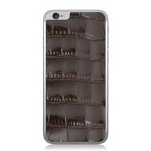 iPhone 6 Back Genuine Alligator Brown Glazed