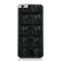 iPhone 6 Back Genuine Crocodile Backstrap Black