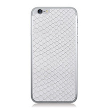 iPhone 6 Back Genuine Python White - Small Scale