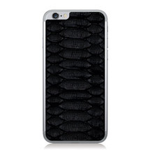 iPhone 6 Back Genuine Python Black