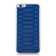 iPhone 6 Back Genuine Python Cobalt