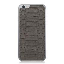iPhone 6 Back Genuine Python Grey