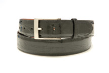Genuine Crocodile Belt Glazed Black