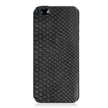 iPhone 5 Back Genuine Python Black - Small Scale