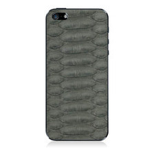 iPhone 5 Back Genuine Python Grey