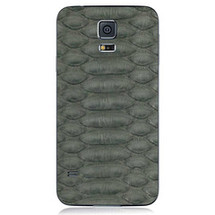 Samsung Galaxy S5 Back Genuine Python Grey