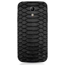 Samsung Galaxy S4Back Genuine Python Black