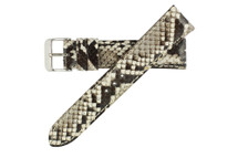 Genuine Python Watch Band Natural