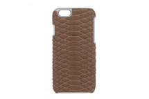 iPhone 6/6S Case Genuine Python Mink