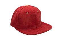 Genuine Python Hat Red Gold