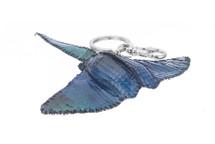 Stingray Charm Python Skin Ocean Blue