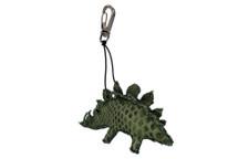 Stegosaurus Charm Python Skin Army Green