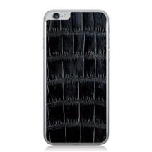 iPhone 6 Back Genuine Alligator Black