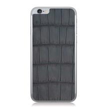 iPhone 6 Back Genuine Alligator Brown Oiled