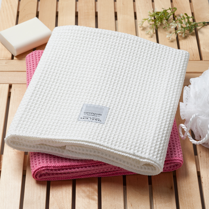 Luxe Waffle Weave Hair Towel