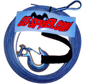 ATV Winch Cable w/ hook 3/16'' x 50'